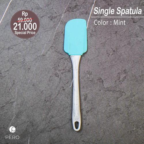 Foto Produk PERO SILICONE SPATULA MARBLE HANDLE - MINT dari Pero Indonesia