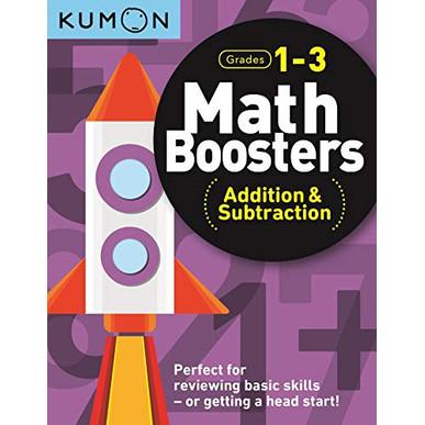 Foto Produk Buku Anak - Kumon - Math Boosters: Addition & Subtraction (Grades 1-3) dari Kumon Publishing INA