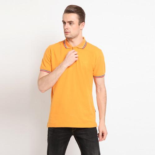 Foto Produk RBJ Polo Shirt Kerah Stripes Pria 207300021 - YELLOW APRICOT, L dari RBJ Official