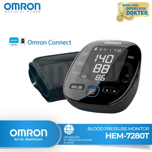Foto Produk OMRON AUTOMATIC BLOOD PRESSURE MONITOR HEM-7280T WITH Bluetooth dari Omron Healthcare