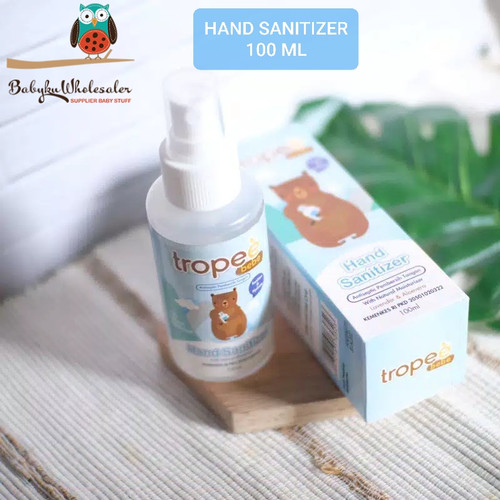 Foto Produk Hand sanitizer anak Tropee bebe food grade dari BABYKU WHOLESALER