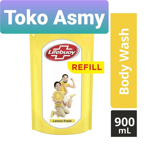 Foto Produk LIFEBUOY 900ml Body Wash Total 10 Refill - Lemon dari Toko Asmy