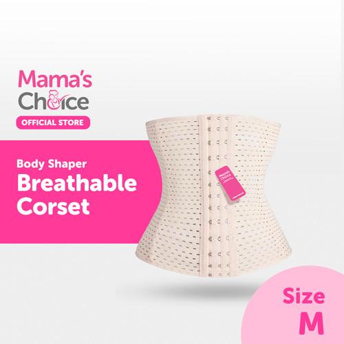 Foto Produk Mama's Choice Body Shaper Breathable Corset - Cream - M dari MamasChoiceID