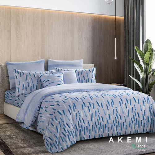 Foto Produk AKEMI Tencel Touch Serenity Fitted Sheet Set Super Single 120x200 - Rainey dari AKEMI OFFICIAL STORE