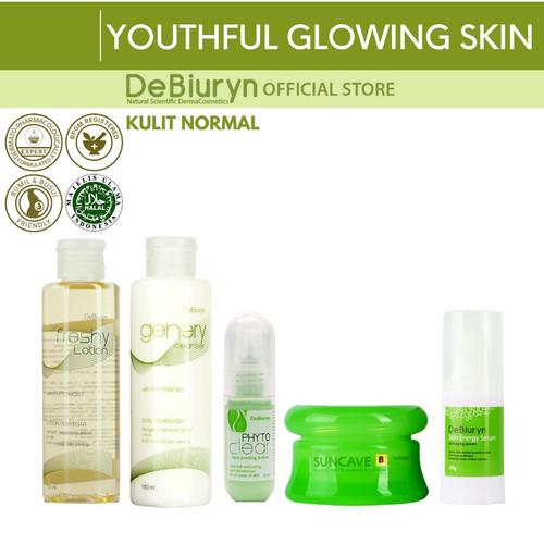 Foto Produk DeBiuryn Youthful Glowing Skin Care - Anti Aging Series - Kulit Normal dari Debiuryn Dermacosmetics