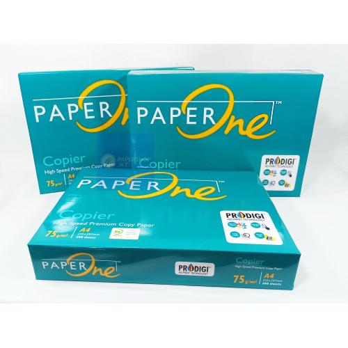 Foto Produk Paper One A4 - 75Gr - RIM dari Paper Shop Jkt