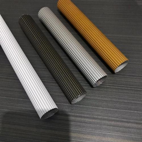 Foto Produk PROMO! Tiang Gorden/ Batang Gorden/ Pipa Gorden/ Gorden (Garis) - Putih dari ASESORIES GORDEN BOY