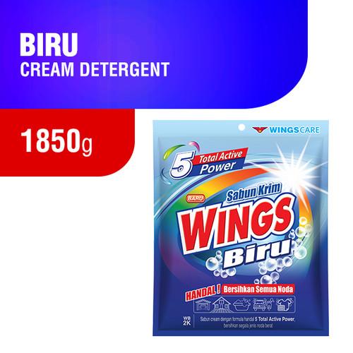 Foto Produk Wings Biru Deterjen Krim 1850 gram dari Wings Official Store