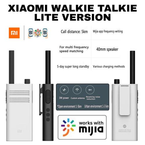 Foto Produk XIAOMI WALKIE TALKIE LITE - Mi smart walkie talkie lite - Putih dari b2b mobile