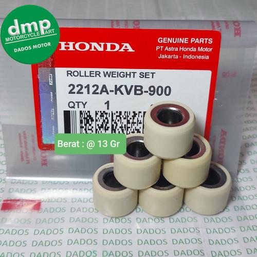 Foto Produk ROLLER WEIGHT BeAT FI Scoopy FI Vario 110 Karbu Vario 110 eSP 13Gr KVB dari DMP PART