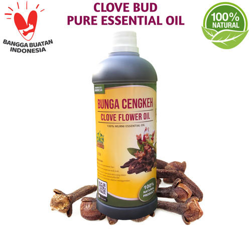 Foto Produk Clove Pure Essential Oil 1 Liter│Minyak Atsiri Cengkeh Murni dari Sahabat Atsiri