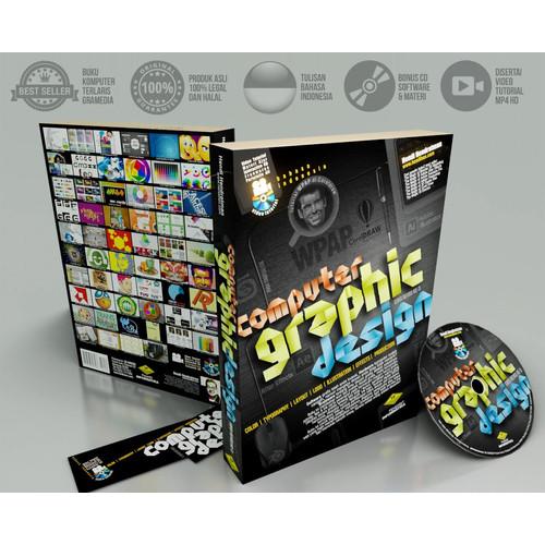 Foto Produk Buku Desain Grafis Komputer WPAP Logo Tipografi Ilustrasi Produksi dari Tutorial Multimedia
