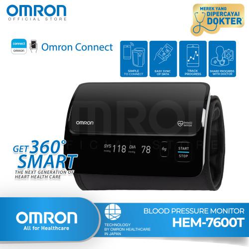 Foto Produk OMRON Blood Pressure Monitor HEM-7600T(With Bluetooth) dari Omron Healthcare