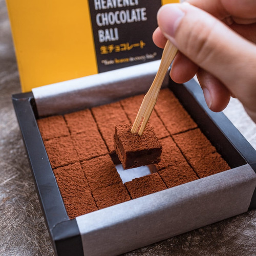 Foto Produk Heavenly Chocolate Bali - Dark 54,5%, Square (20pcs) dari Richzen