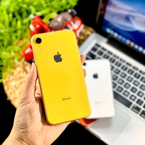Foto Produk Second iPhone XR 256GB Nano+eSim, Mulus LikeNew, Fullset Original - Yellow dari Wonderland Store