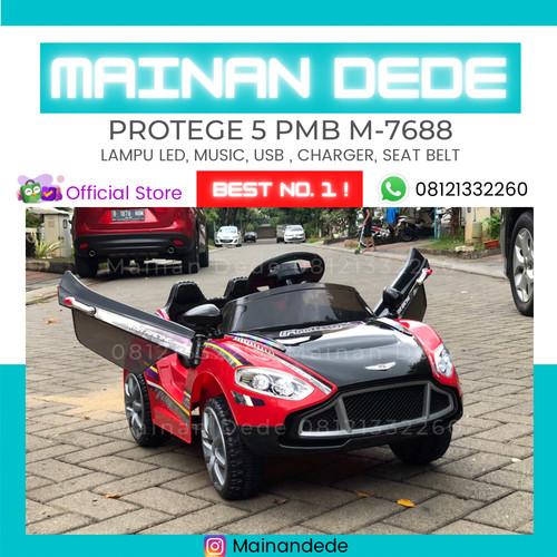 Foto Produk Mainan Anak Mobil Aki Protege PMB M7688 MURAH - Merah Muda dari Mainan Anak Dede
