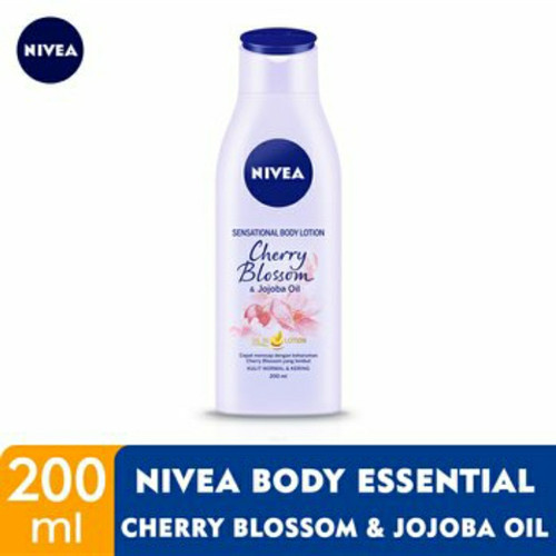 Foto Produk Nivea Hand Body Lotion [ 200 mL ] Sensational Cherry Blossom / Rose - cherry blossom dari joko swalayan
