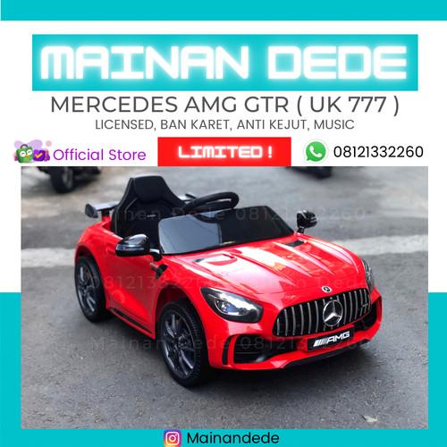 Foto Produk Mainan Mobil Aki Anak AMG GTR UK 777 LICENSE - Merah dari Mainan Anak Dede