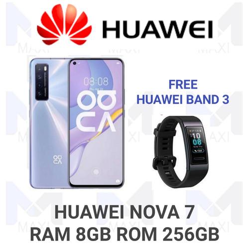 Foto Produk Huawei Nova 7 5G 8/256 Ram 8gb Rom 256gb Garansi Resmi - Ungu dari Maxi phone cell