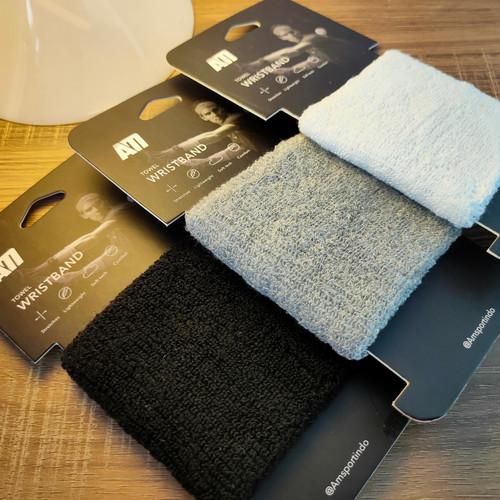 Foto Produk Wristband Towel Sport 100% Original - Grey dari AM_Sports