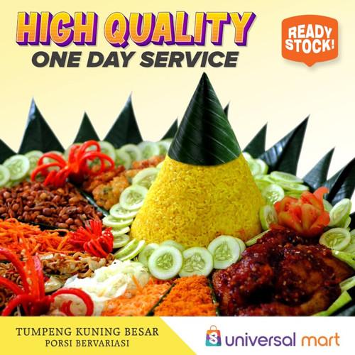 Foto Produk Nasi Tumpeng kuning porsi 5 orang dari Universal Mart