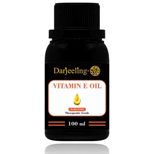 Foto Produk 100ml Vitamin E Oil Minyak Vitamin E 100% Murni dari Darjeeling Store