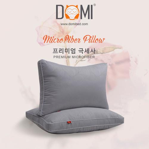 Foto Produk Domi Bantal Microfiber Grey dari Domi Bed