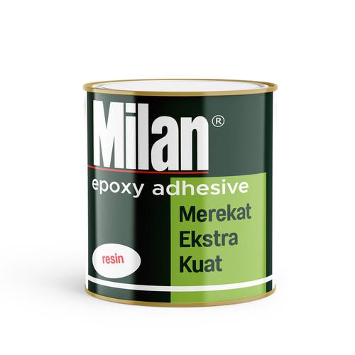 Foto Produk Milan Epoxy Adhesive clear | 800 gram / botol set dari BKO Wooden shop