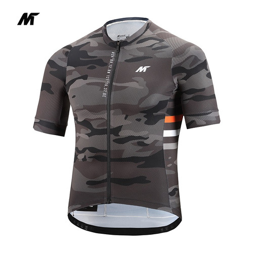 Foto Produk Jersey Mysenlan Auran M10172 Gray Men Short Sleeve Premium dari FittoBike