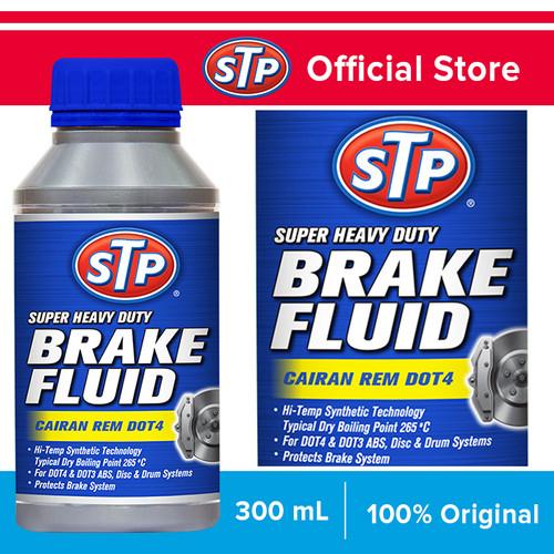 Foto Produk STP BRAKE FLUID (Cairan Minyak Rem) 300 mL DOT 4 dari STP