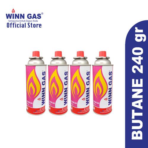 Foto Produk Butane Catridge Winn Gas 4pcs dari WINN GAS