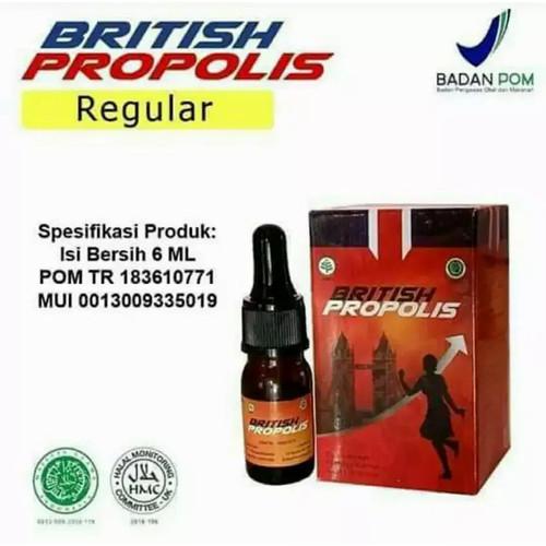 Foto Produk British Propolis Original Suplemen Imunitas Kuat Obat Dewasa Kids Madu - Dewasa dari Keight Store