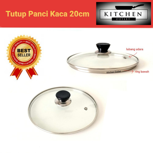 Foto Produk TUTUP PANCI KACA 20 CM dari KITCHEN OUTLET