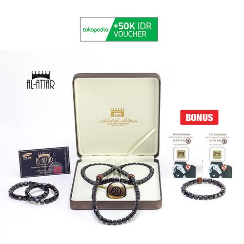 Foto Produk [BIG CASHBACK] AL ATTAR Health Necklace (Kalung Kesehatan) 4+4 Set dari MNC Shop