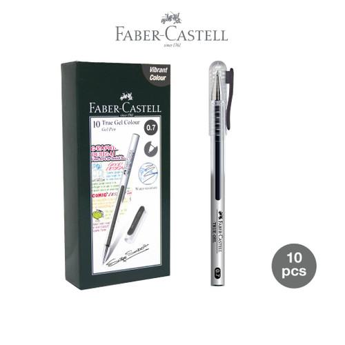 Foto Produk Faber-Castell True Gel Pen -- Black Ink 0.7 mm dari Faber-Castell