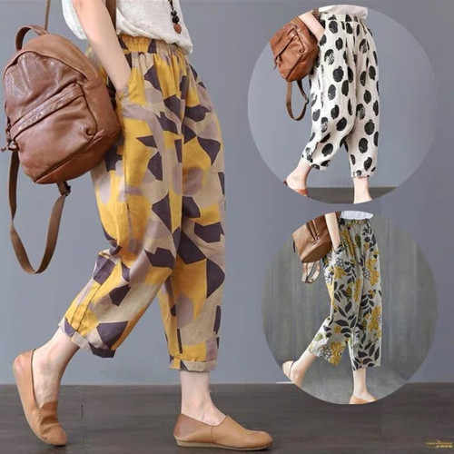 Foto Produk Celana Panjang Jogger Motif Import Fashion Canvas Jepang Trousers Jumb - Polka dari GROSIR KOREAN FASHION