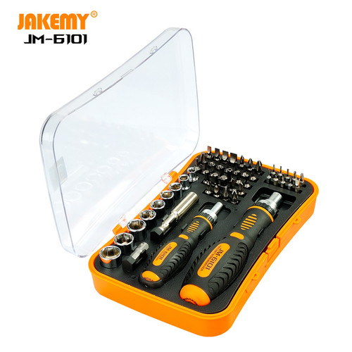 Foto Produk Jakemy 53 in 1 Household Ratchet Home Tool Kit - JM-6101 dari HOUSE SPAREPART