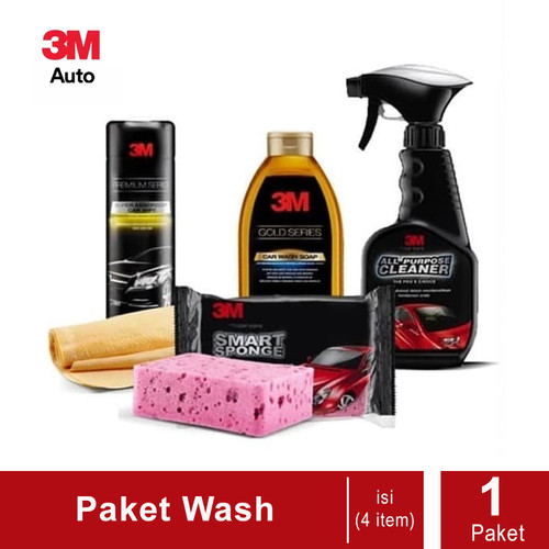 Foto Produk 3M Paket Wash Perawatan Mobil - Dijual dengan Harga Murah dari 3M