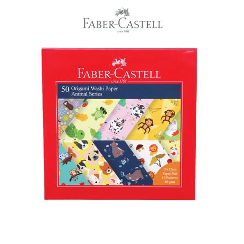 Foto Produk Faber Castell Origami Washi Paper Animal Series dari Faber-Castell