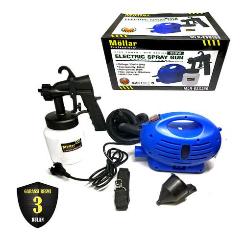 Foto Produk MOLLAR ESG350 Mesin Spray Gun Listrik Paint Zoom Semprot Cat 350 Watt dari Mollar Official