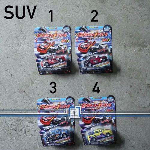 Foto Produk CRASH EMS EMCO Mainan Mobil Tabrak Bongkar Pasang Crashems PULLBACK dari Toysgraphy