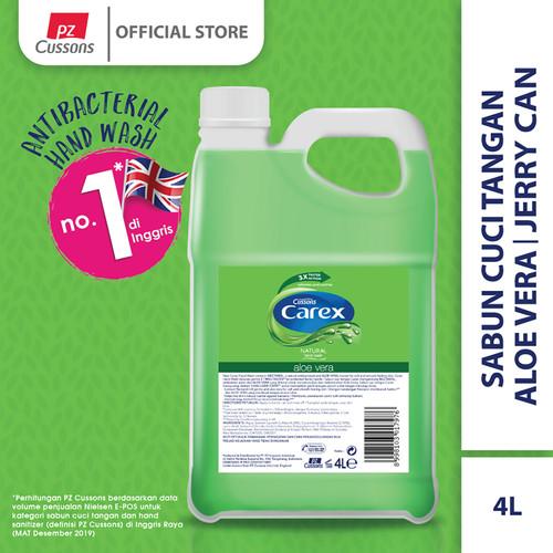 Foto Produk Carex Hand Wash Aloe Vera Jerigen 4L dari Cussons Official Store