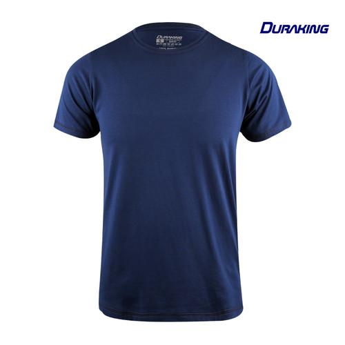 Foto Produk Duraking Kaos 100% Cotton SUPIMA Daily Wear Navy - S dari Duraking Outdoor&Sports