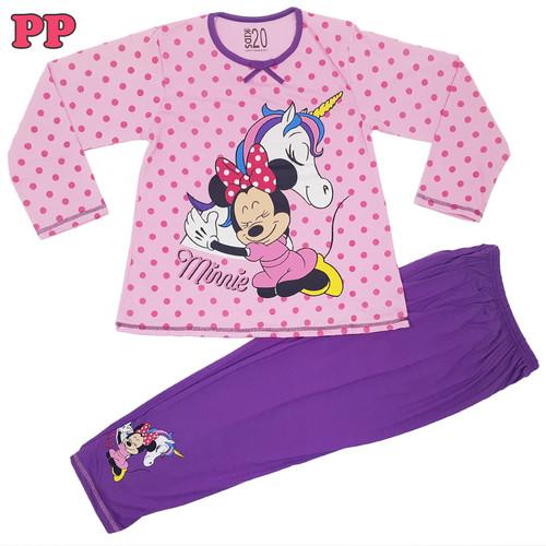 Foto Produk SATUAN / Piyama Anak / Baju Tidur Anak Perempuan / Hello Kitty / SPP01 - No 8 (4-5 Thn), Unicorn dari Beli Piyama
