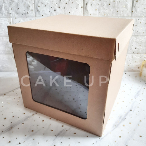 Foto Produk Dus Kue Tinggi 25x25x25 Tall Cake Box dari Cake Up