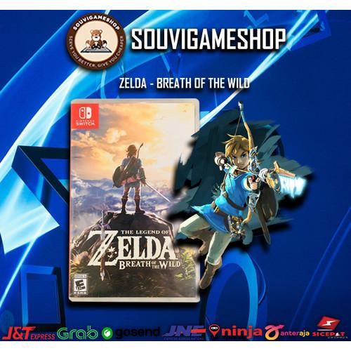 Foto Produk Nintendo Switch Zelda Breath Of The Wild (US / Asia) dari souvigameshop