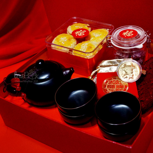 Foto Produk Chinese NewYear Giftbox | Hamper/Kado Imlek - Tea Time dari LoveBoxGiftBox