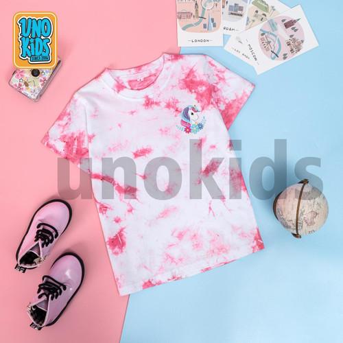 Foto Produk Kaos Tie Dye Anak Perempuan, karakter Unicorn - Pink, 8 dari uWa_store