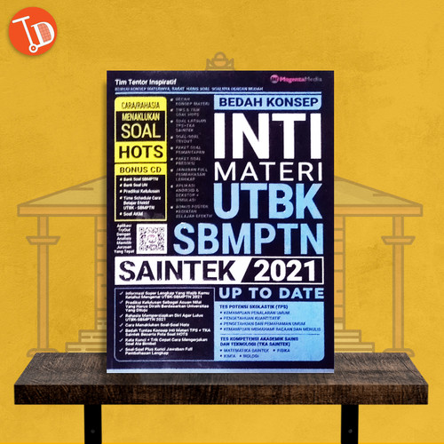 Foto Produk BUKU SOAL SBMPTN & UTBK BEDAH KONSEP INTI MATERI SBMPTN SAINTEK 2021 dari TukuDewe