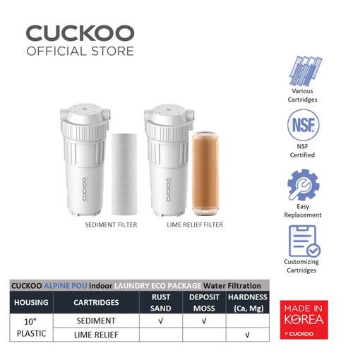 "Foto Produk CUCKOO ALPINE POU Indoor 10"" LAUNDRY ECO PACKAGE Water Filtration dari CuckooIndonesia"